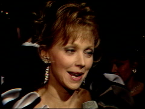 Shelley Long at the 1989 Golden Globe Awards at the Beverly Hilton in Beverly Hills California on January 28 1989