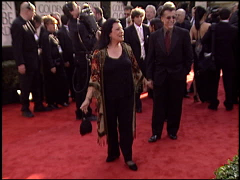 shelley morrison at the 2003 golden globe awards at the beverly hilton in beverly hills, california on january 19, 2003. - shelley morrison stock videos & royalty-free footage