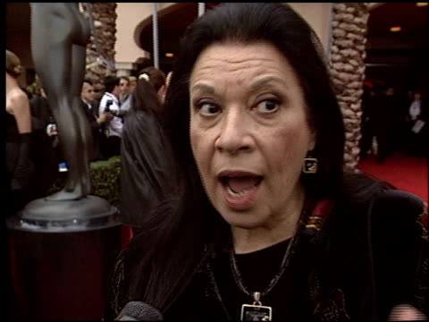 shelley morrison at the 2004 screen actors guild sag awards at the shrine auditorium in los angeles, california on february 22, 2004. - shelley morrison stock videos & royalty-free footage