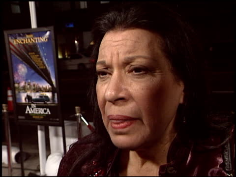shelley morrison at the 'in america' premiere at academy theater in beverly hills, california on november 20, 2003. - shelley morrison stock videos & royalty-free footage
