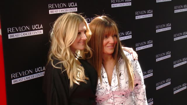 Shelli Azoff Allison Azoff Statter at Revlon's Annual Philanthropic Luncheon in Los Angeles CA