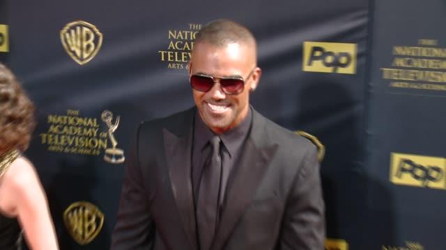 Shemar Moore at 42nd Annual Daytime EMMY Awards at Warner Bros Studios on April 26 2015 in Burbank California