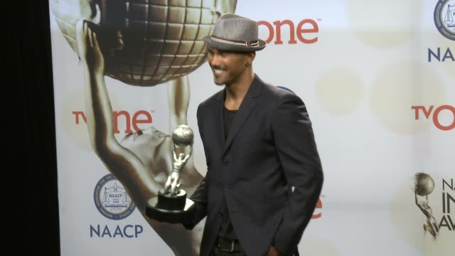 stockvideo's en b-roll-footage met shemar moore at the 46th annual naacp image awards press room at pasadena civic auditorium on february 06 2015 in pasadena california - pasadena civic auditorium