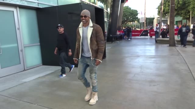 Shemar Moore at the Los Angeles Clippers vs Golden State Warriors game at STAPLES Center in Los Angeles at Celebrity Sightings in Los Angeles on...