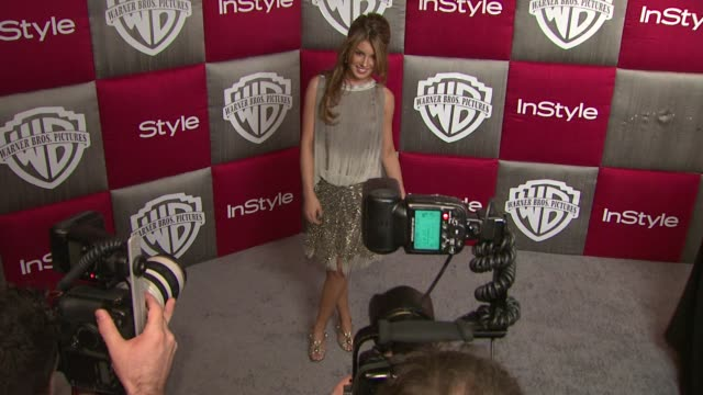 shenae grimes at the instyle 2009 golden globes after party part 3 at los angeles ca. - 2009年点の映像素材/bロール