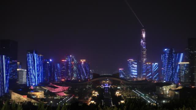 ShenZhen Stadt-Lasershow