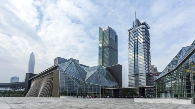 Shenzhen library time lapse