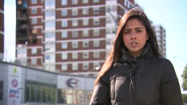 shepherd's bush tower block fire caused by faulty tumble dryer / warning over whirlpool tumble dryers reporter to camera hammersmith interview sot - dryer stock videos & royalty-free footage