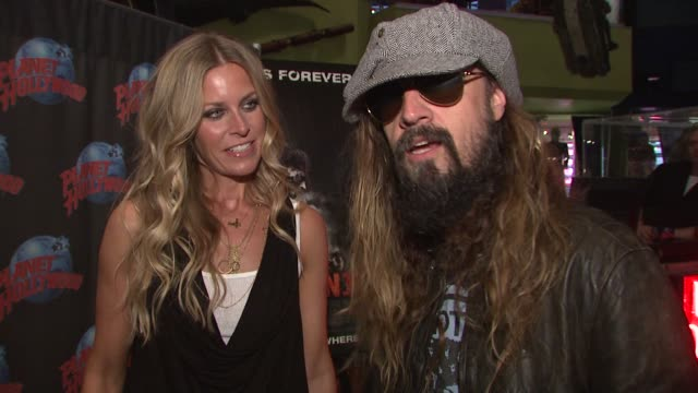 Sheri Moon and Rob Zombie on working together how they started working on Halloween the difference between writing music and scripts and upcoming...