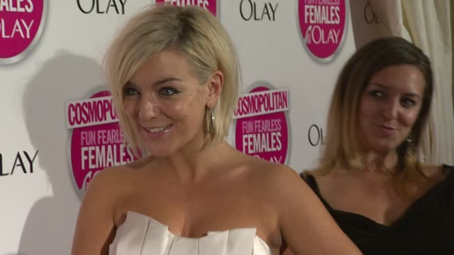 sheridan smith at the cosmopolitan ultimate women of the year awards arrivals at london england - sheridan smith stock videos & royalty-free footage