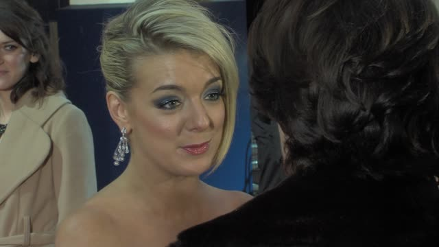 sheridan smith at the olivier awards at london england - sheridan smith stock videos & royalty-free footage