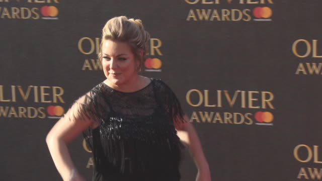 sheridan smith at the olivier awards with mastercard on april 09 2017 in london england - sheridan smith stock videos & royalty-free footage