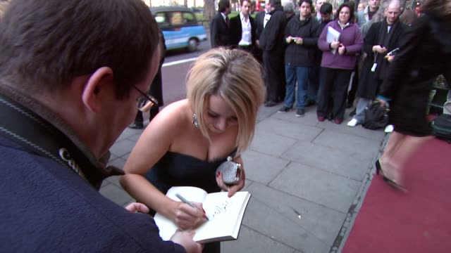 sheridan smith at the the laurence olivier awards at the grosvenor house in london on march 9 2008 - sheridan smith stock videos & royalty-free footage