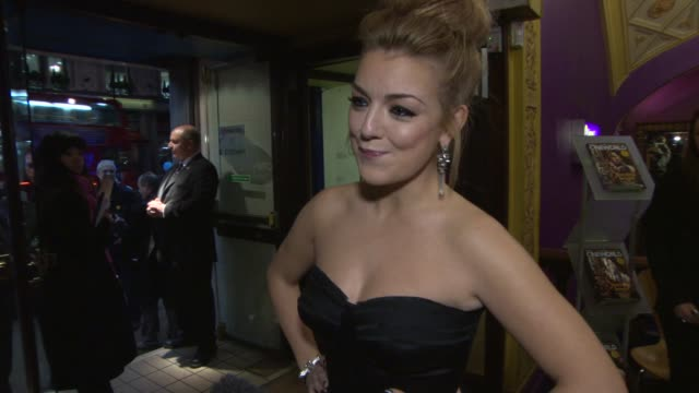 interview sheridan smith on female conversations at cineworld haymarket on november 27 2013 in london england - sheridan smith stock videos & royalty-free footage