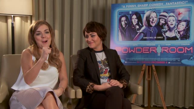 interview sheridan smith on her character on november 20 2013 in london england - sheridan smith stock videos & royalty-free footage
