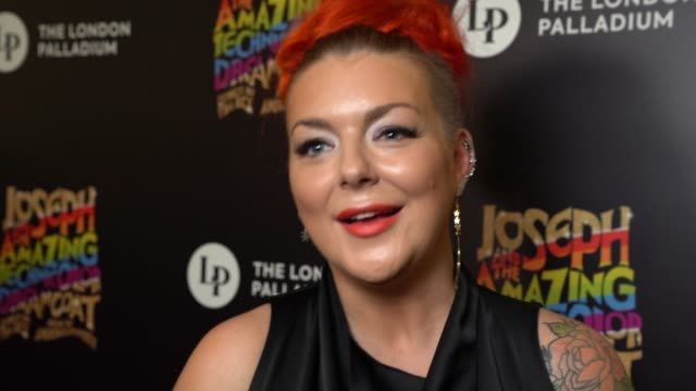 interview sheridan smith on the excitement of being involved on jason donovan her return to stage at joseph and the amazing technicolor dreamcoat... - sheridan smith stock videos & royalty-free footage