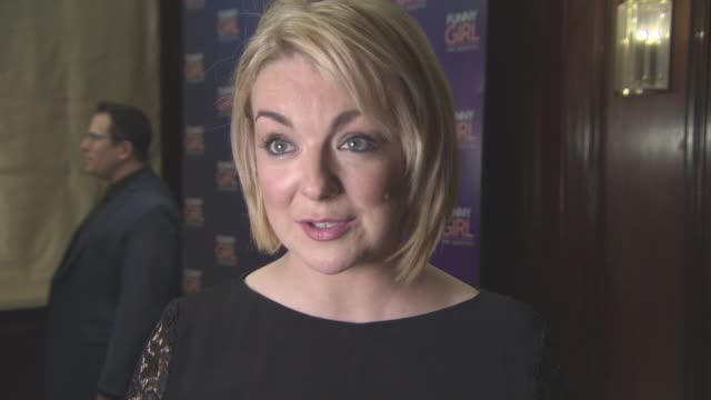 interview sheridan smith on the opening night what it was like on stage the journey with the audience victoria wood passing away and being an... - sheridan smith stock videos & royalty-free footage