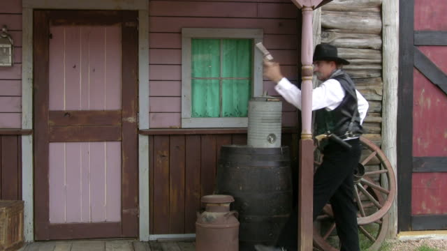 sheriff at work - wild west stock videos & royalty-free footage
