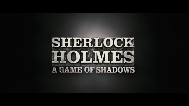 sherlock holmes: a game of shadows: european premiere at empire leicester square on december 08, 2011 in london, england - sherlock holmes stock videos & royalty-free footage