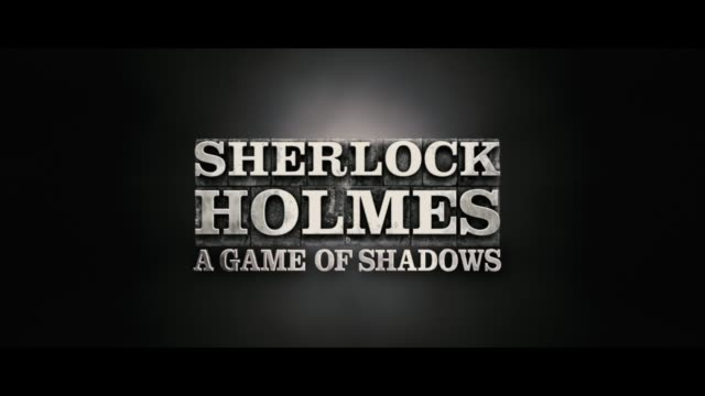 sherlock holmes a game of shadows european premiere at empire leicester square on december 08 2011 in london england - sherlock holmes stock videos & royalty-free footage