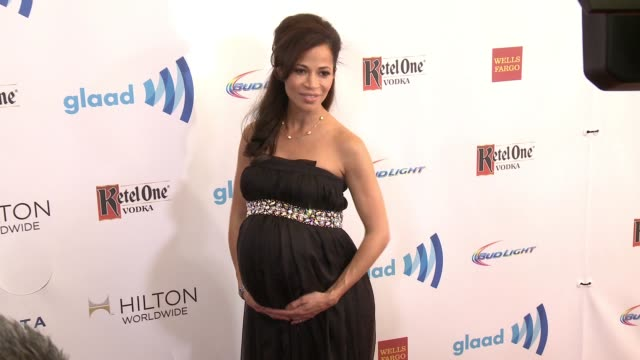 stockvideo's en b-roll-footage met sherri saum at the 25th annual glaad media awards at the beverly hilton hotel on april 12 2014 in beverly hills california - beverly hilton hotel