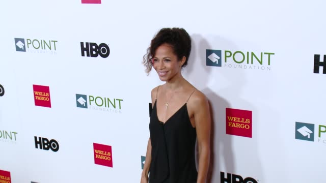 Sherri Saum at the Point Foundation's Voices On Point Gala at the Hyatt Regency Century Plaza on October 03 2015 in Century City California
