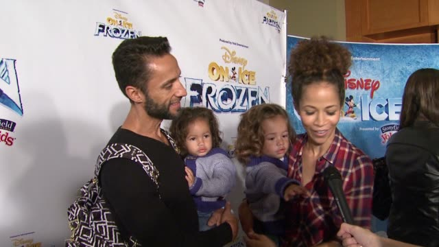 INTERVIEW Sherri Saum on the event the appeal of Frozen at Disney On Ice presents Frozen Los Angeles Celebrity Premiere in Los Angeles CA