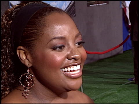 sherri shepard at the 'mr 3000' premiere at the el capitan theatre in hollywood, california on september 8, 2004. - el capitan theatre stock videos & royalty-free footage