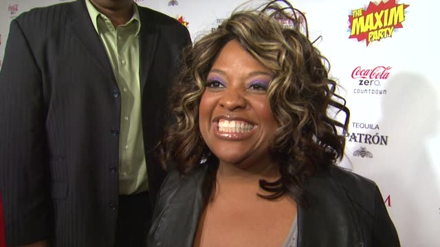 Sherri Shepherd on what brings her out the the Maxim Super Bowl party what super power she would most like to have who she thinks is the sexiest...