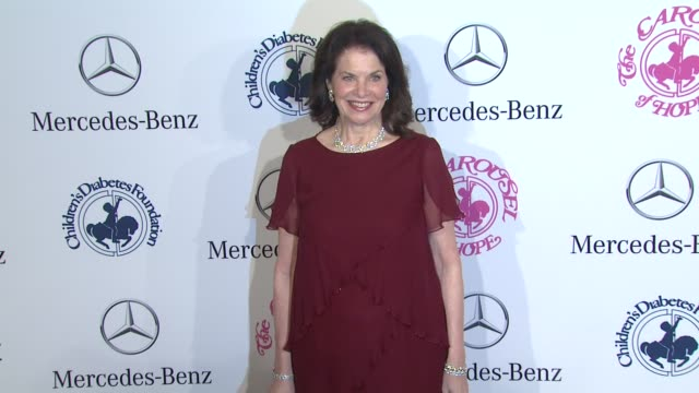 Sherry Lansing at 26th Anniversary Carousel of Hope Ball on in Beverly Hills CA