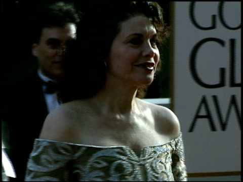 Sherry Lansing at the 1997 Golden Globe Awards at the Beverly Hilton in Beverly Hills California on January 19 1997