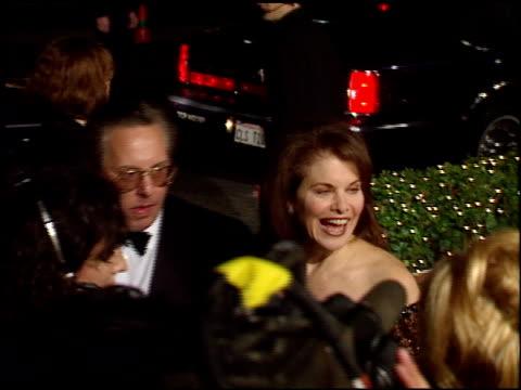 vídeos de stock e filmes b-roll de sherry lansing at the 1998 academy awards titanic party at new chasens in beverly hills california on march 23 1998 - 70.ª edição da cerimónia dos óscares