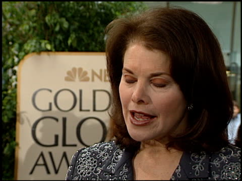 Sherry Lansing at the 1999 Golden Globe Awards at the Beverly Hilton in Beverly Hills California on January 24 1999
