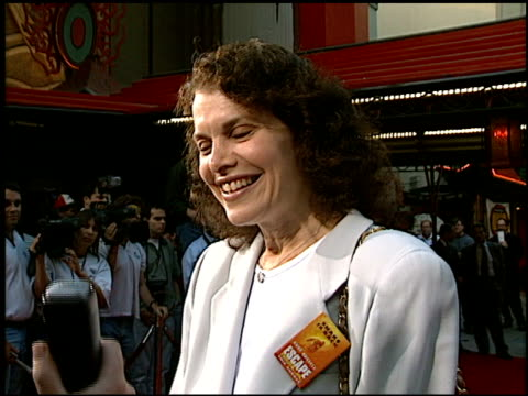 sherry lansing at the 'escape from la' premiere at grauman's chinese theatre in hollywood california on august 7 1996 - 1996 stock videos & royalty-free footage