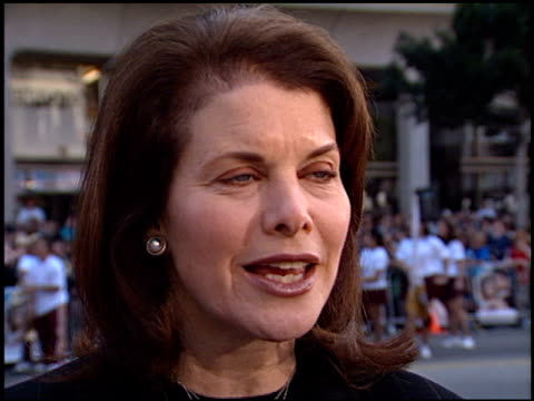 Sherry Lansing at the 'Grease' Premiere at Grauman's Chinese Theatre in Hollywood California on March 15 1998
