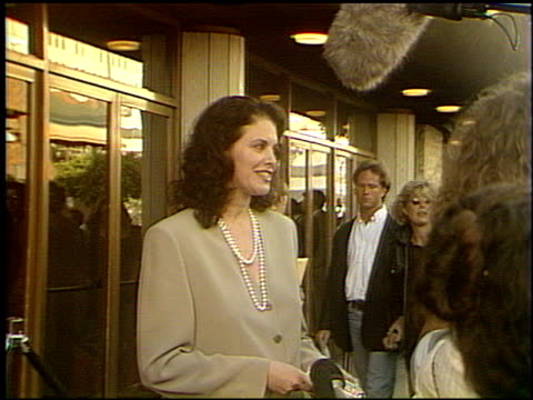 Sherry Lansing at the 'Slive'r Premiere at the Bruin Theatre in Westwood California on May 19 1993