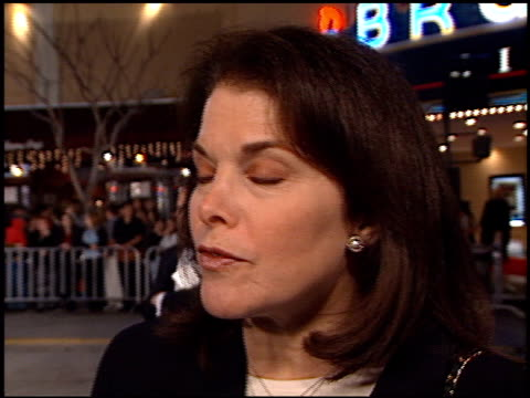 sherry lansing at the 'we were soliders' premiere at the mann village theatre in westwood california on february 22 2002 - regency village theater stock-videos und b-roll-filmmaterial