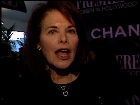sherry lansing at the women in hollywood awards at the four seasons hotel in beverly hills, california on october 16, 2002. - four seasons hotel stock videos & royalty-free footage