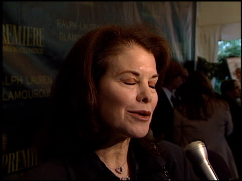 Sherry Lansing at the Women in Hollywood Luncheon at the Four Seasons Hotel in Los Angeles California on October 22 2001