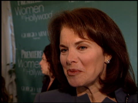 Sherry Lansing at the Women in Hollywood Luncheon at the Four Seasons Hotel in Beverly Hills California on October 11 2000