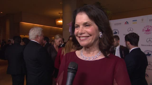 Sherry Lansing on Barbara Davis and the event at 26th Anniversary Carousel of Hope Ball on in Beverly Hills CA