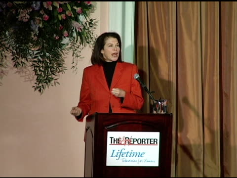 Sherry Lansing on receiving the inaugural Sherry Lansing Leadership Award at the Hollywood Reporter's Annual Women in Entertainment Power 100...