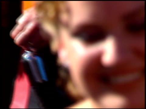 sherry stringfield at the 1996 emmy awards arrivals at the pasadena civic auditorium in pasadena, california on september 8, 1996. - パサディナ公会堂点の映像素材/bロール