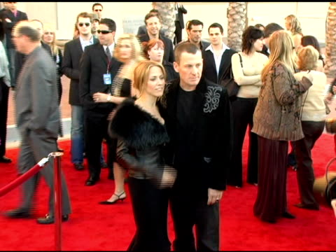 sheryl crow and lance armstrong at the 2005 american music awards arrivals at the shrine auditorium in los angeles california on november 22 2005 - sheryl crow stock videos & royalty-free footage
