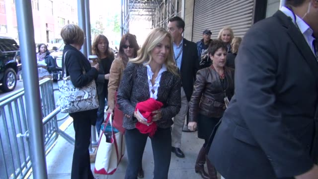 sheryl crow arrives at the 'rachael ray show' studio in new york ny on 10/11/12 - sheryl crow stock videos and b-roll footage