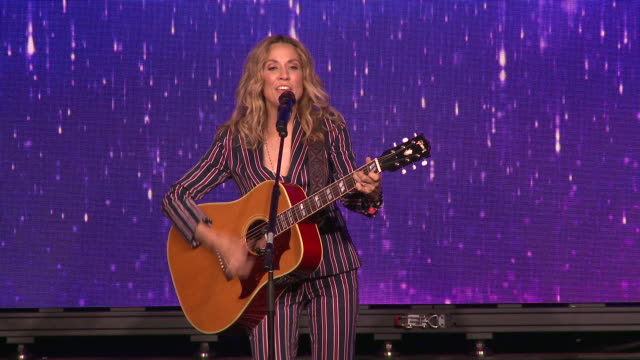 performance sheryl crow at the 44th annual gracie awards in los angeles ca - sheryl crow stock videos & royalty-free footage