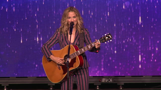 speech sheryl crow at the 44th annual gracie awards in los angeles ca - sheryl crow stock videos & royalty-free footage