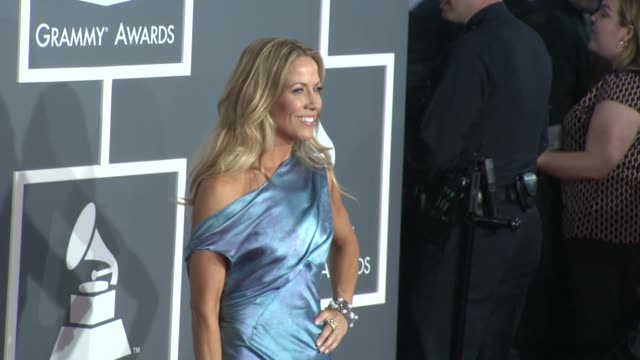 sheryl crow at the 51st annual grammy awards part 5 at los angeles ca - sheryl crow stock videos & royalty-free footage