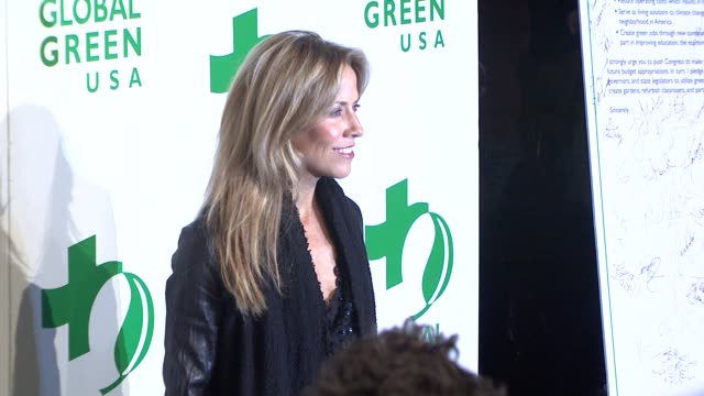 sheryl crow at the global green usa's 6th annual preoscar party benefiting green schools at los angeles ca - pre party stock videos and b-roll footage