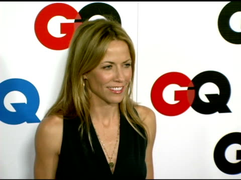 sheryl crow at the gq's 2005 'men of the year' celebration at mr chow beverly hills in beverly hills california on december 2 2005 - sheryl crow stock videos and b-roll footage